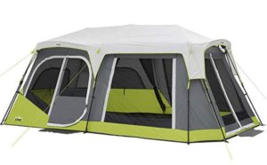Core 12 person 2 room tent with instant setup