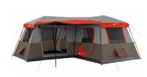 Ozark Trail 12 Person Tent with 3 rooms
