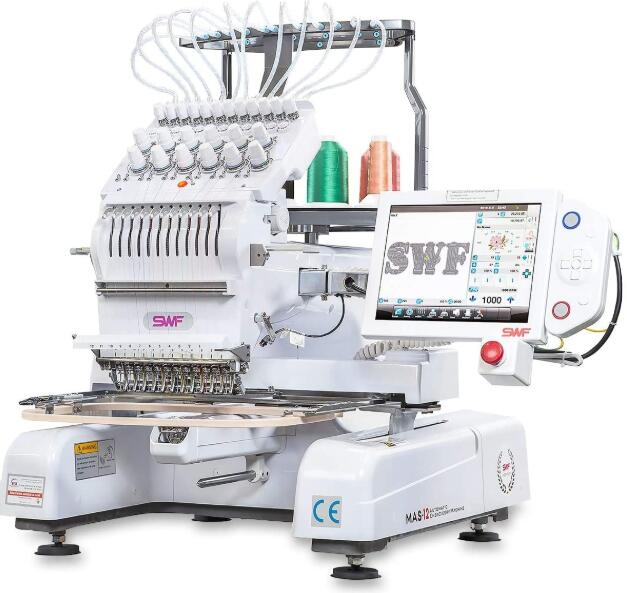 single head embroidery machine vs multi head embroidery machine